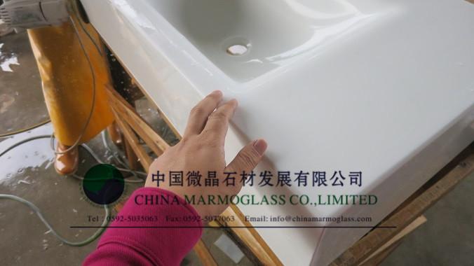 White Nanoglass Countertop Nanoglass Worktop Nanoglass tabletop